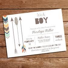 tribal baby shower party invitation tribal invitation boy