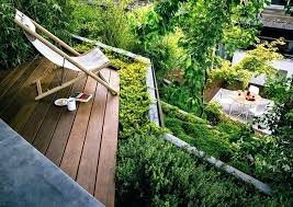 Decking Ideas For Sloping Garden Sloping Gardens How To Level Or Terrace A Sloping Garden Sloping