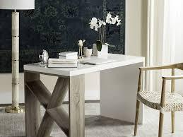Modern Solid Wood Desk by Office Desk Beautiful Width Modern Scandinavian Side Storage