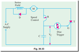 speed control of d c motors thyristor speed control of separately