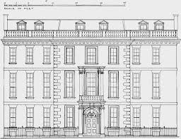 House Elevation by Plate 105 Harrington House Elevation British History Online
