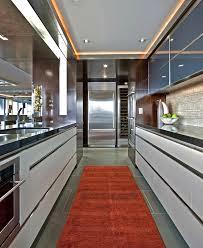 sleek kitchen kitchen industrial with sleek contemporary hall and