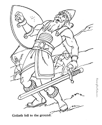 harp coloring page david and goliath scripture sticks stones discussion coloring