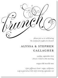 after wedding brunch invitation wording post wedding brunch invitations as well as the morning after