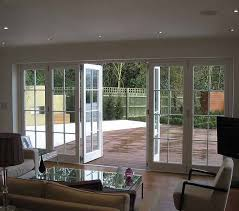 French Patio Doors With Screen by White Timber Bifold Doors Decorative Google Search House