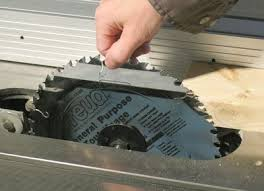 Best Table Saw Blades Fixing The Wobble In A Table Saw Arbor