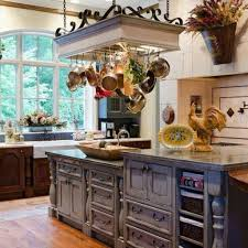 country kitchen decorating ideas photos kitchen gray cabinet on country kitchen decor with hanging cookware