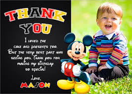 mickey mouse thank you cards 23 thank you card templates free documents in pdf