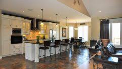 Kitchen Diner Flooring Ideas Designs For Kitchen Diners Open Plan Floor Back Door Before