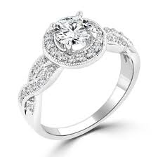 Cubic Zirconia Wedding Rings by High Quality Cubic Zirconia Wedding Rings Halo Cubic Zirconia