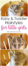baby and toddler hairstyles simple hairstyles