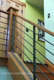 wondrous metal stair rails 93 metal stair railing home depot