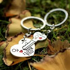 love key rings images New 1 pair couple i love you letter keychain heart key ring silver jpg