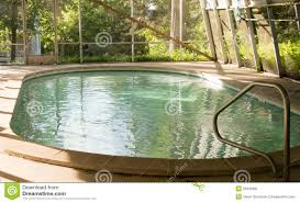 indoor pool in sunroom stock photo image 55535081