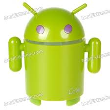 android mp3 android robot style mp3 player with fm radio colorful light tf