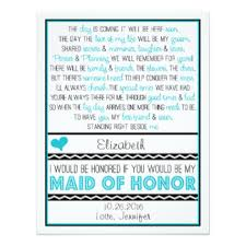 matron of honor poem of honor invitations announcements zazzle canada