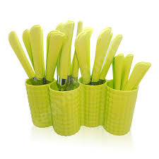 bookthewish com buy cutlery sets with stand in india