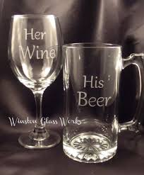 his hers wine glasses his mega mug and wine large wine glass set of two