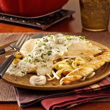 saucy chicken casserole recipe taste of home