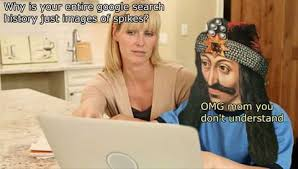 Search History Meme - gets impaled meme by grammar soviet memedroid