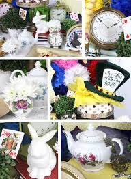 alice in wonderland party ideas birthday in a box