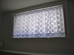 simple basement window treatments ideas basement window