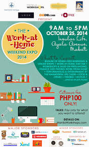 Companies With Work At Home The Binondo Mommy Work At Home Weekend Expo 2014 Giveaway