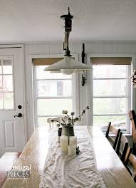 Dining Lighting Diy Farmhouse Lighting Kitchen Remodel Continues Prodigal Pieces
