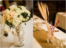 Country Centerpiece Ideas by Wheat Centerpiece Ideas For A Country Wedding Rustic Wedding Chic