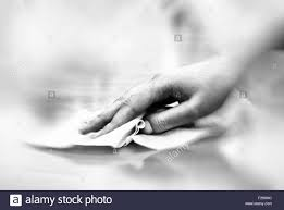 Cleaning Table Stock Images Royalty by Hand With Wet Wipe Cleaning Table Stock Photo Royalty Free Image