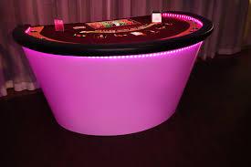 Black Jack Table by Blackjack Table Lighted Agr Las Vegas