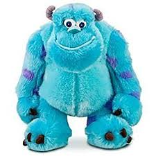amazon disneys monsters sully 14in plush doll sully