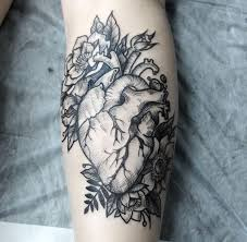download heart tattoo with flowers danielhuscroft com