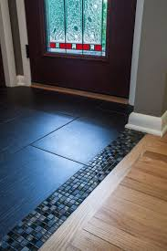 Kitchen Floor Tile Ideas by Best 25 Transition Flooring Ideas On Pinterest Dark Tile Floors