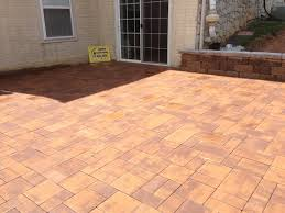 Paver Patio Cost Per Square Foot by Cost Of Paver Patio Or Stamped Concrete Patio Outdoor Decoration