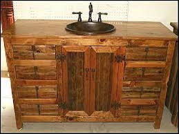Rustic Bath Vanities Small Rustic Bathroom Vanity Bathroom Decoration