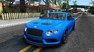 bentley sports car 2016 bentley for gta san andreas