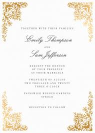 marriage invitation online customisable wedding invitations order online sles 1 papier