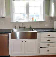 36 stainless steel farmhouse sink stainless steel farmhouse kitchen sink and 1 83 33 stainless steel