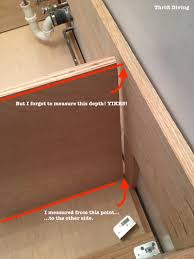 How To Install Laminate Flooring In A Bathroom Build A Diy Bathroom Vanity Part 3 Creating The Partitions