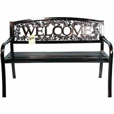 outdoor metal bench seats bench decoration