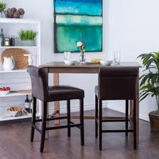 cosmopolitan black leather counter stools set of 2 free