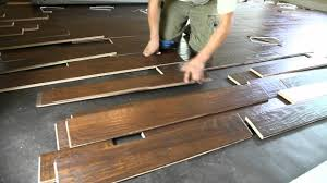 How To Lay Down Laminate Flooring How To Install Wood Flooring Brucall Com