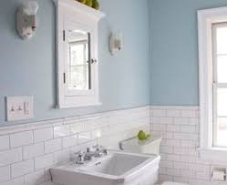 Light Blue Bathroom Paint by Simple Small Bathroom Design And Decoration Using Light Blue Grey