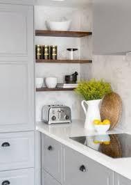 Open Kitchen Shelves Instead Of Cabinets Les Meilleures Idées D U0027étagères D U0027angle Light Gray Cabinets