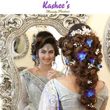 bridal hairstyle images kashees beautiful bridal hairstyle u0026 makeup beauty parlour