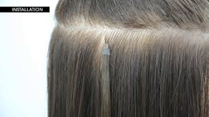 Keratin Tipped Hair Extensions by How To Install Y Tip Hair Extensions By Le Prive Youtube
