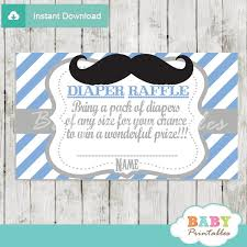 raffle baby shower blue grey mustache baby shower raffle tickets d113 baby
