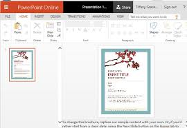 spring flyer template for powerpoint online