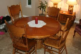 Round Wood Kitchen Table And Chairs Marceladick Com